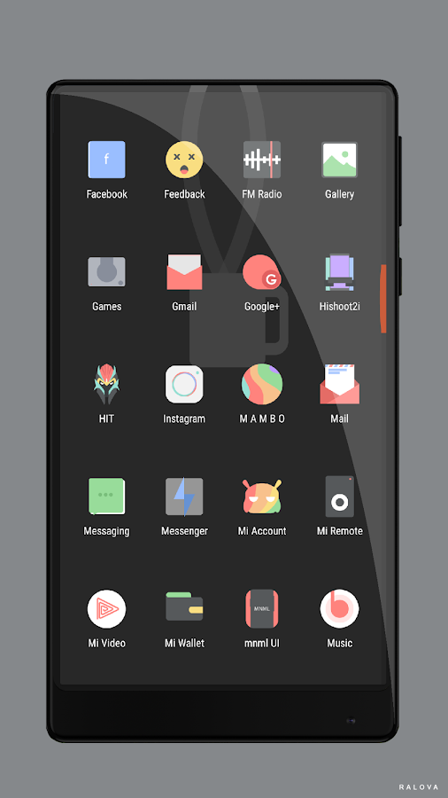 M A M B O Icon Pack Screenshot 4