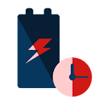 Super Quick Charger 5x Icon