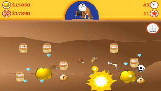 Gold Miner Troll - screenshot