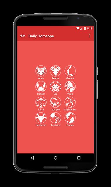Daily Horoscope screenshots