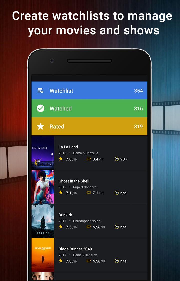 CineTrak: Your Movie and TV Show Diary Screenshot 1