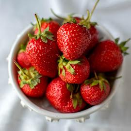 Strawberries by Andreea Diana Furnea - Food & Drink Fruits & Vegetables ( fruits, strawberries, props, berries )