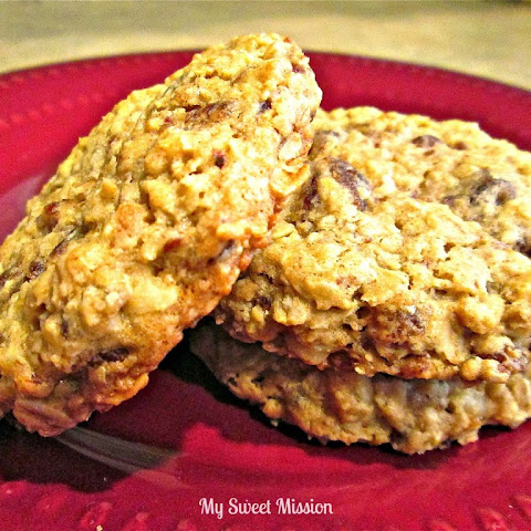 Oatmeal Date & Nut Cookies