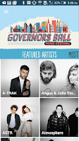 Screenshot of Governors Ball Music Festival