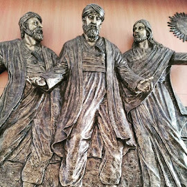 On the way to Emaus by Ign Hadi - Buildings & Architecture Statues & Monuments