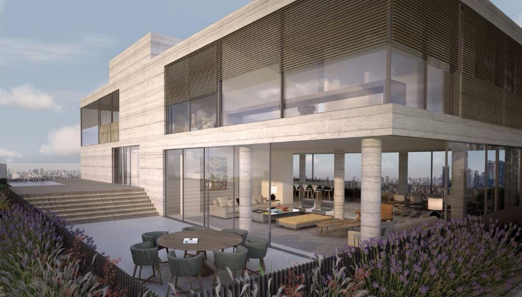 Perspectiva do Terraço da Cobertura Duplex - 683 m²