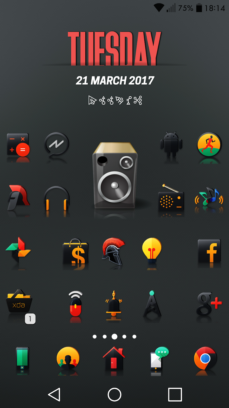 Darko 2 - Icon Pack Screenshot 6