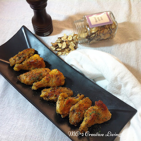 Garlic and Black Pepper Chicken Wings