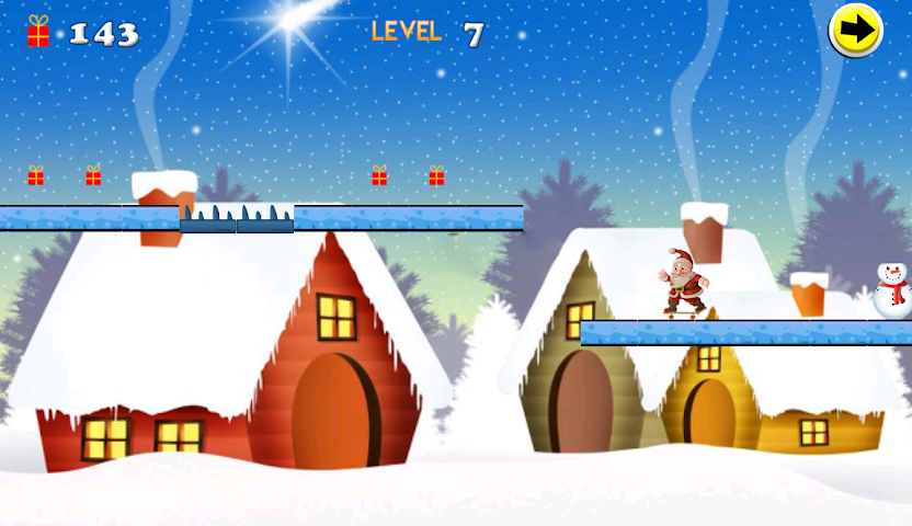 android Christmas Skateboard Screenshot 4