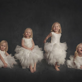 Personality. by Chantelle Heiskell - Babies & Children Child Portraits ( child, joyful, girl, joy, children, gown )