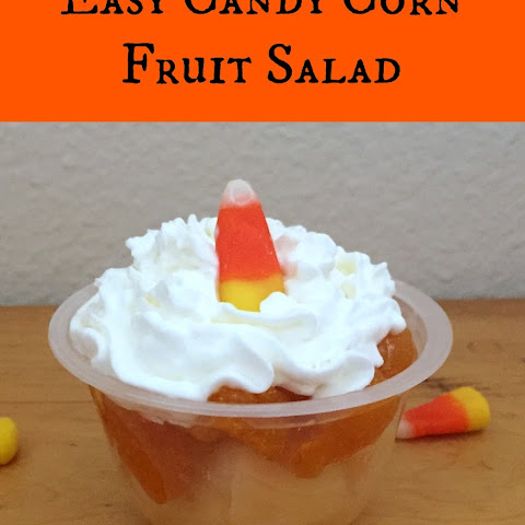 Candy Corn Fruit Salad
