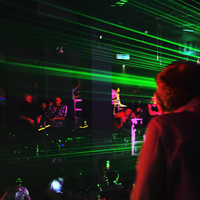 Night Life (Laser Show) by Shahin A. Samadi - News & Events Entertainment