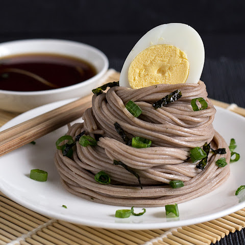 Zaru Soba (Chilled Buckwheat Noodles)
