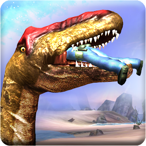 Avail this real chance to be the legend of super Dinosaur attack robot battle. APK Icon