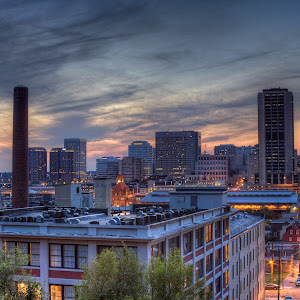 Summer Sunset in Richmond Virginia.jpg