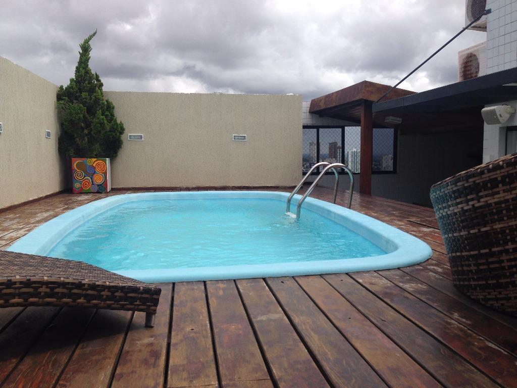 Cobertura com 3 dormitórios à venda, 265 m² por R$ 900.000 - Tambauzinho - João Pessoa/PB