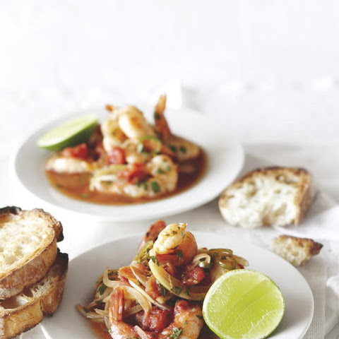 Mexican Spicy Shrimp Packets