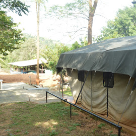 Camp side Lounge... by Vinod Rajan - Buildings & Architecture Other Exteriors ( tent, camping, lounge, buildings, exterior, homes, building, camp, home, architecture,  )