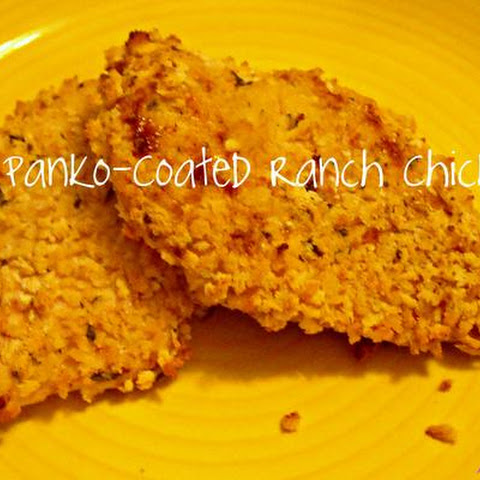 Crispy Panko-Coated Ranch Chicken
