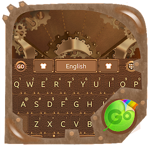 Steam Punk GO Keyboard Theme