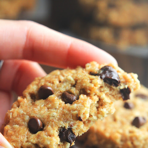 Chocolate Chip Peanut Butter Oatmeal Cookies
