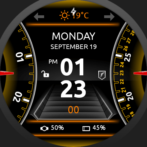 SmartDrive Watch Face Screenshot 9