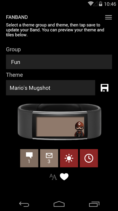fanband Screenshot 3