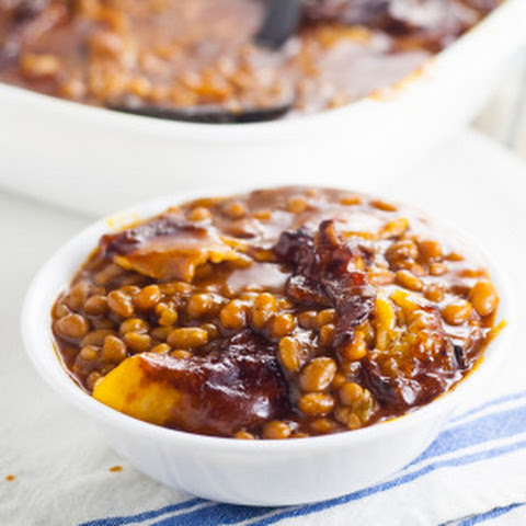 Homemade Bacon Baked Beans