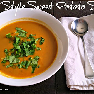 Thai Style Sweet Potato Soup