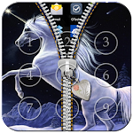 Unicorn Passcode Zipper Lock file APK for Gaming PC/PS3/PS4 Smart TV