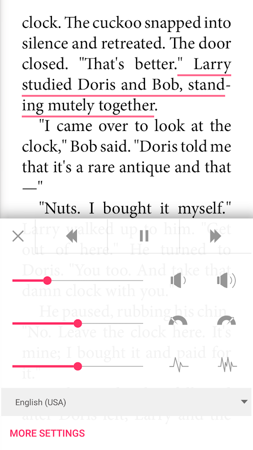 Bookari Ebook Reader Premium Screenshot 4