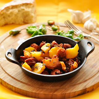Chorizo With Potatoes