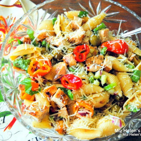 Italian Chicken and Pasta Salad