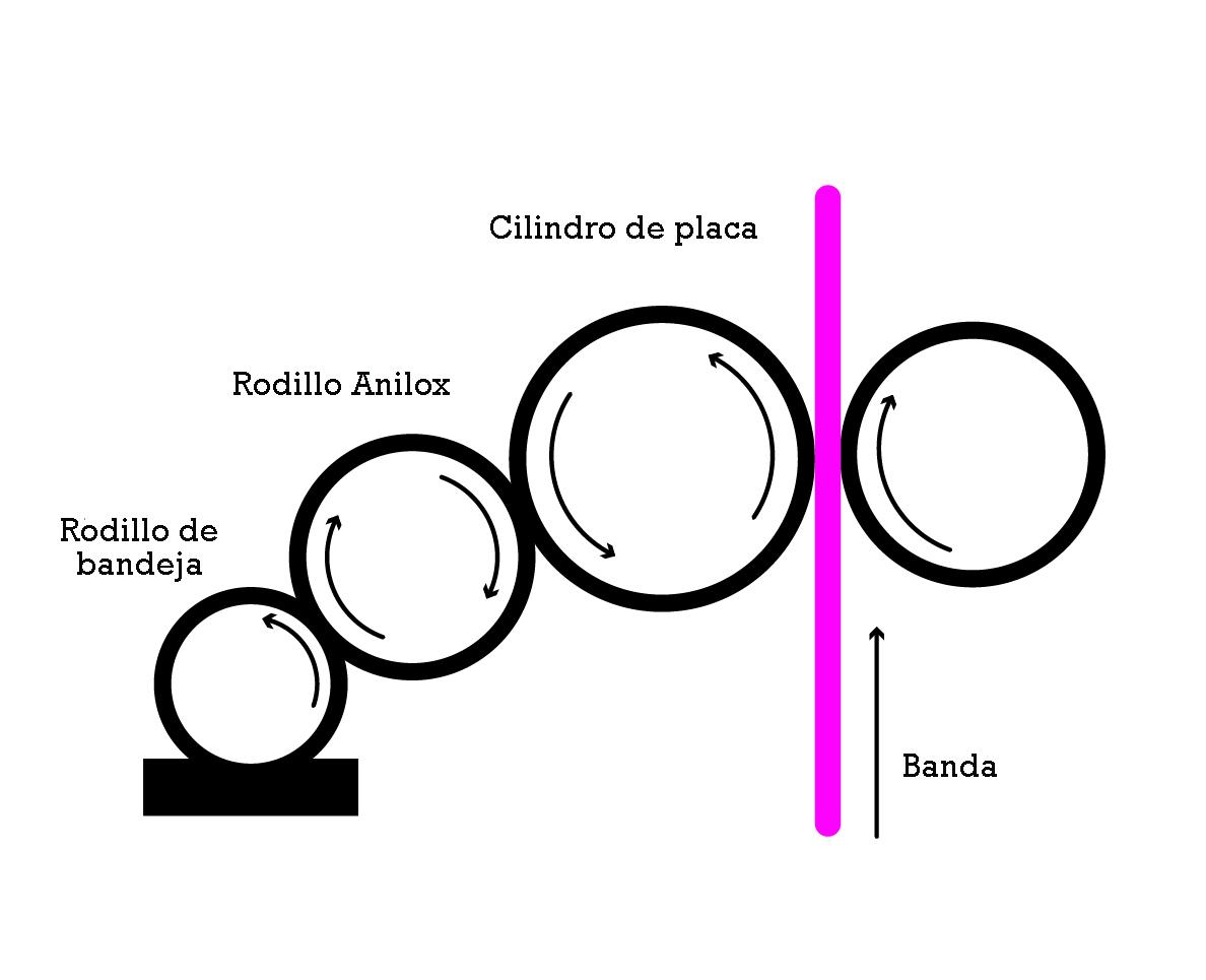 Diagrama de flexografía