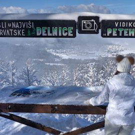 Petehovac by Dalibor Jud - Buildings & Architecture Architectural Detail ( gorski kotar, winter, zima, vidikovac, snow, croatia, viewpoint, snijeg, hrvatska, delnice )