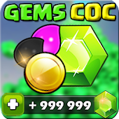 ?? Gems Of COC Prank Icon