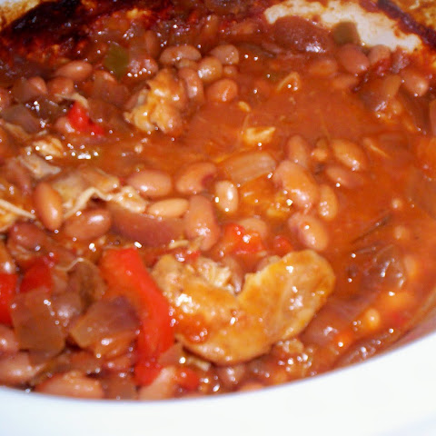 Tex Mex Chicken and Beans
