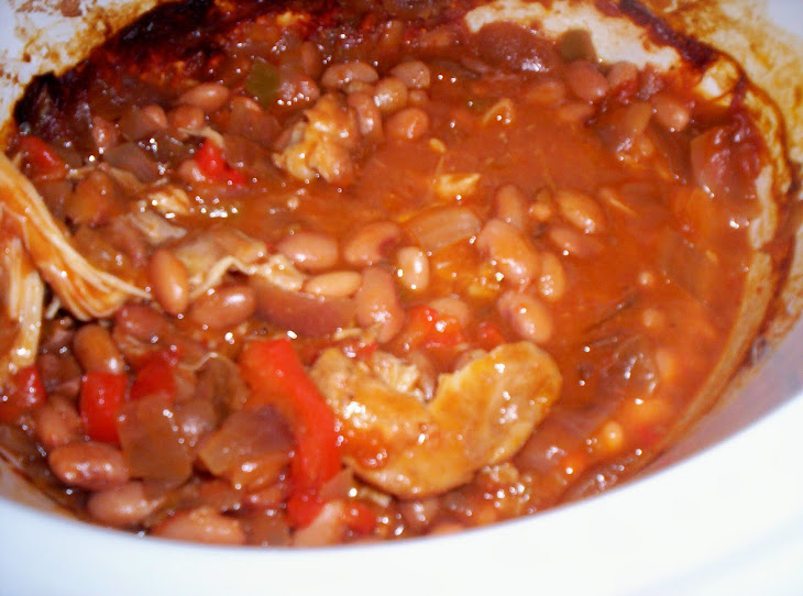 tex mex chicken and beans from 365 days of slow cooking added by ...