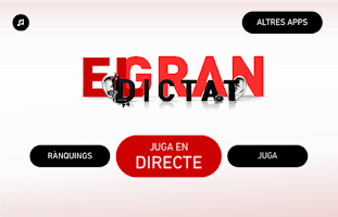 Screenshot of El gran dictat