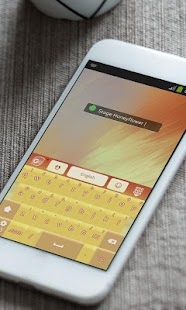 Stage Honeyflower GO Keyboard - screenshot