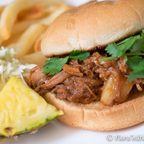 Crockpot Pineapple Pulled Pork