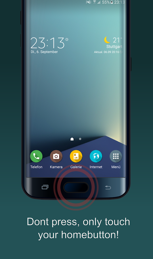 easyHome - Fingerprint Actions Screenshot 0