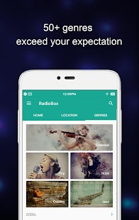 Free Download RadioBox- Free Music, Radio FM APK for Blackberry