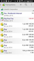 Screenshot of InvestControl - Portfolio Mgr.