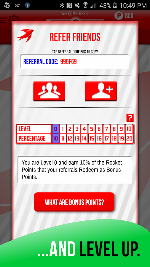 Rocket Redeem Screenshot 5
