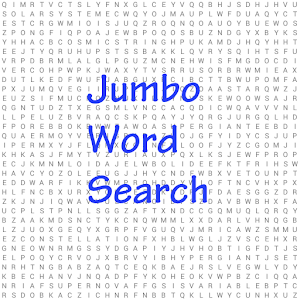 Jumbo Word Search