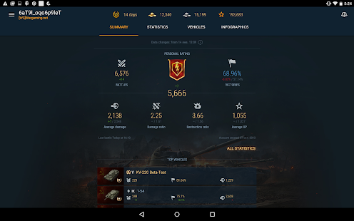 App World of Tanks Blitz Assistant apk for kindle fire