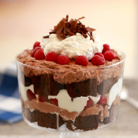 Chocolate & Raspberry Trifle