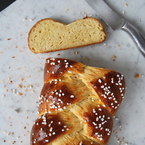 Sweet and Braided Yeast Bread