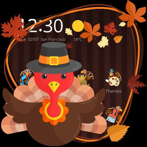 Happy Thanksgiving Theme (app)
